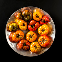 Vedge Fine Art Images:  heirloom tomatoes